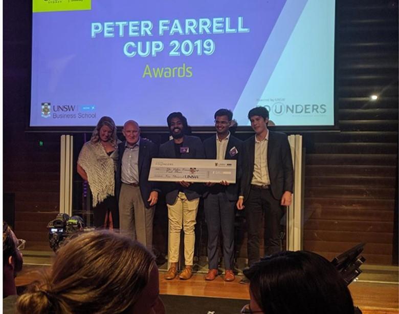 Peter Farrell Cup Winner!!